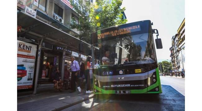 Denizli Büyükşehir otobüsleri EKPSS'ye gireceklere ücretsiz