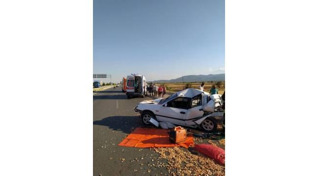 Denizli'de son bir hafta içerisinde 1'i ölümlü 117 trafik kazası meydana geldi