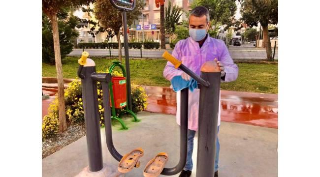Didim'de dezenfekte çalışmaları her gün yapılıyor