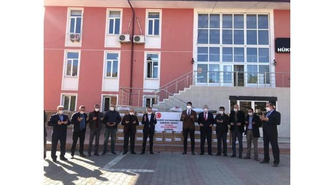 Divriği'den İzmir'e yardım eli
