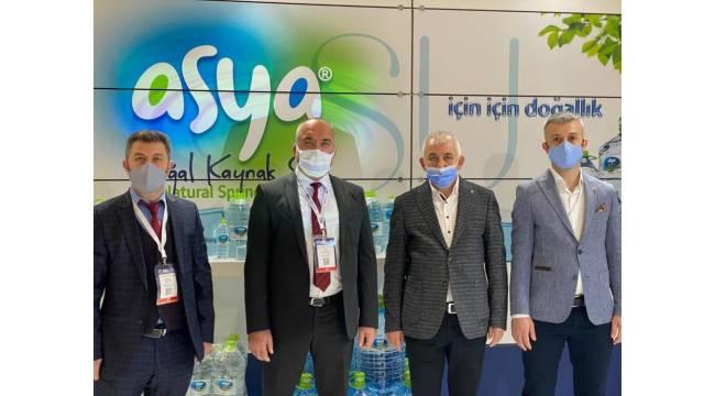 DTSO Başkanı Şahin fuarda Düzce firmalarına desek verdi