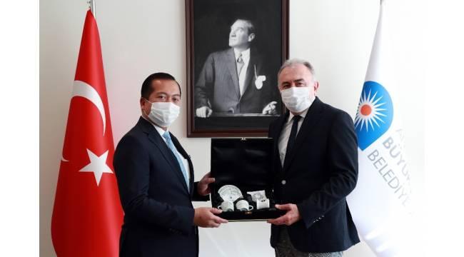 """Endonezya'nın Türkiye Büyükelçisi İqbal: """" Yatırımcıların Asya Pasifik'e yatırım yapmaları için Antalya'dayız"""""""