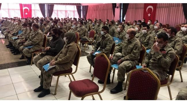 Erzincan'da 'Güvenlik Korucuları Hizmet İçi Eğitim' programı düzenlendi