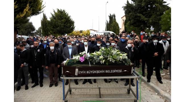 Gazeteci Nedim Demirağ Çeşme'de toprağa verildi