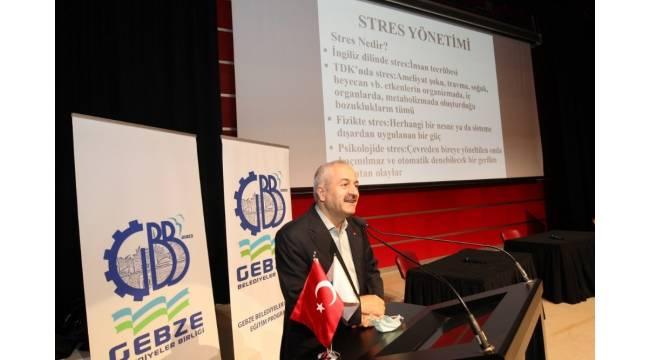 Gebze'de stres yönetimi semineri düzenlendi