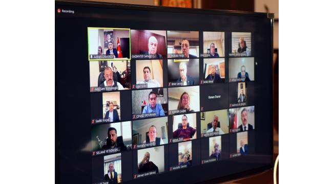 GSO kasım ayı meclis toplantısı yapıldı