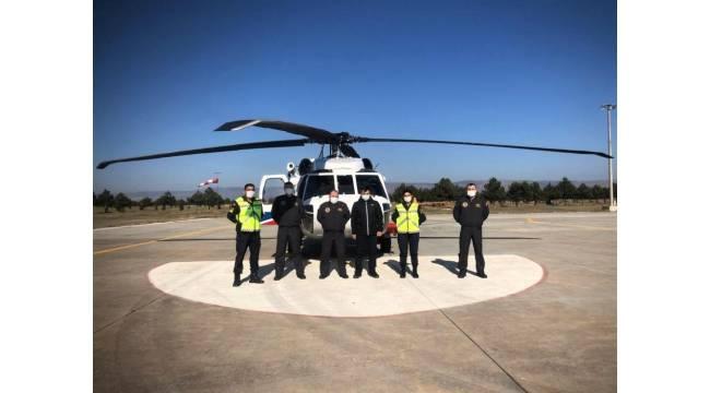 Helikopterli havadan trafik denetiminde ceza yağdı