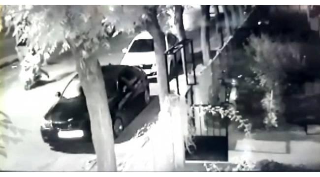 Hırsızlar güvenlik kamerasını hesaba katmadı