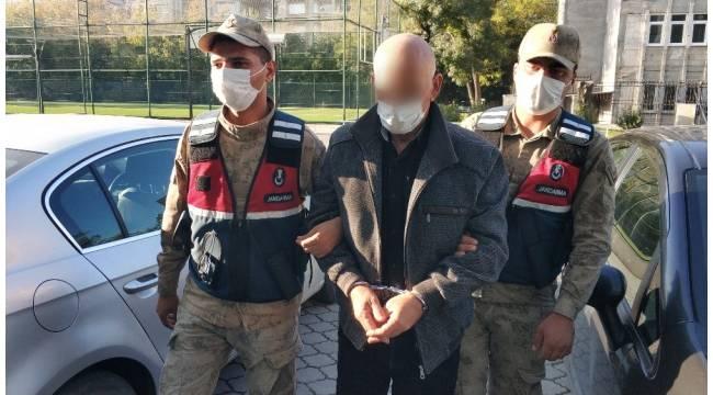 Hırsızlık suçundan 5 yıl cezası bulunan şahıs jandarma tarafından yakalandı
