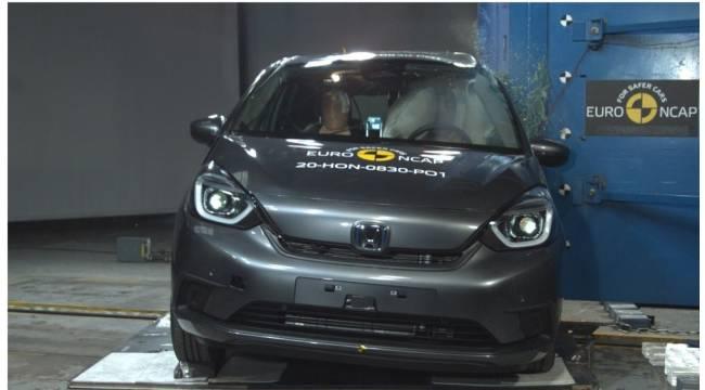 Honda Jazz e:HEV'e Euro NCAP'ten 5 yıldız