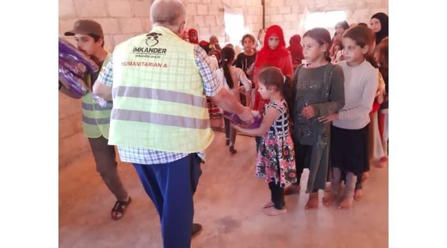 İmkander'den 5 bin çocuğa kışlık giyim