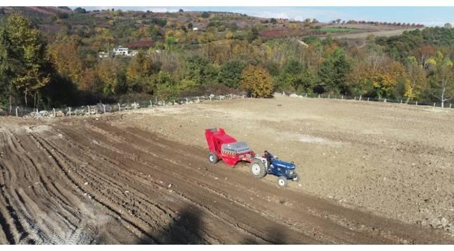 İnegöl'de 2 bin 500 dönüm arazi temizlendi
