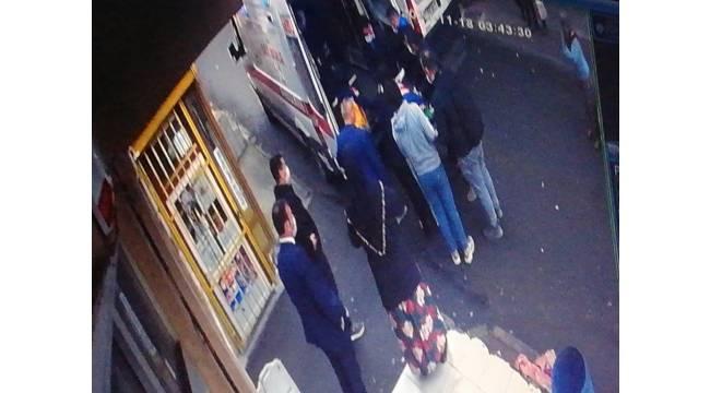 İstanbul'da yaşlı adamın feci ölümü kamerada