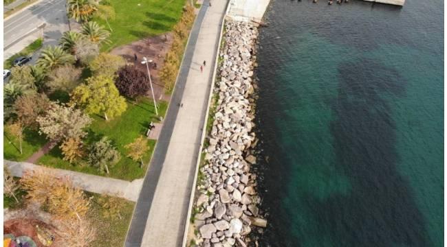 Kadıköy'de deniz sularının çekilmesi paniğe neden olmuştu, suların gelgitten çekildiği ortaya çıktı