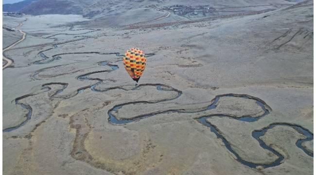 Karadeniz yaylalarında 'balon' turizmi: İlk deneme uçuşu yapıldı
