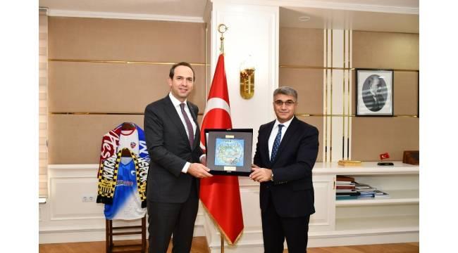 KARDEMİR Yönetim Kurulu Başkanı Bayraktar'dan ziyaretler