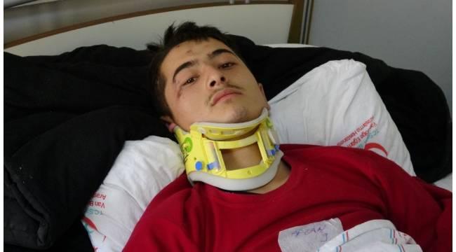 Kazada yaralanan göçmenden Türkiye'ye teşekkür