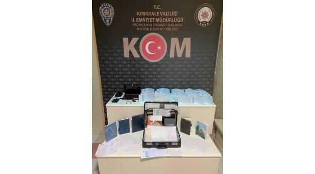Kırıkkale'de tefeci operasyonu: 1 tutuklama