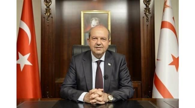 KKTC'nin 37. kuruluş yıl dönümü kutlamaları Cumhurbaşkanı Tatar'ın konuşmasıyla başladı