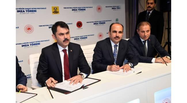 Konya'da yeni Motorlu Sanayi Sitesi ihalesi 12 Ocak'ta