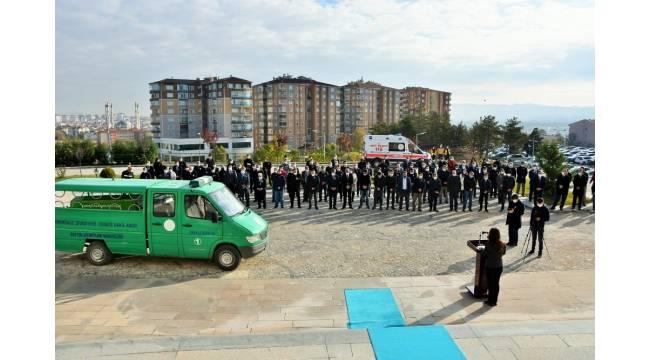 Korona virüsten hayatını kaybeden Yazı İşleri Müdürü için tören düzenlendi