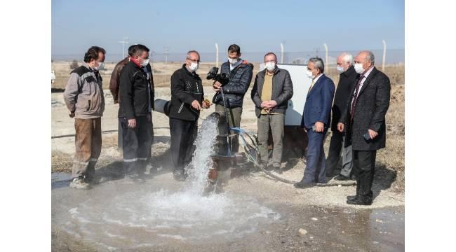 Kütahya'da 50 derece sıcaklığında kaplıca suyu