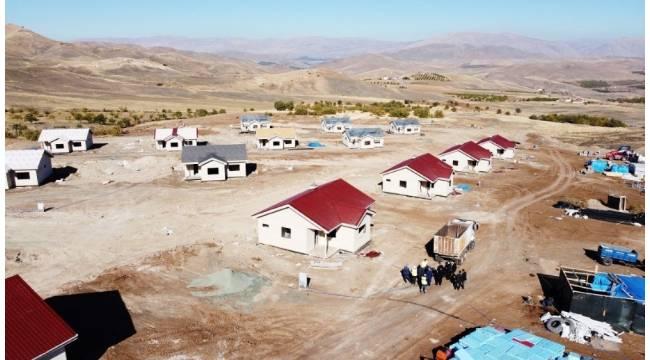 Malatya'da deprem evlerinde son aşamaya gelindi