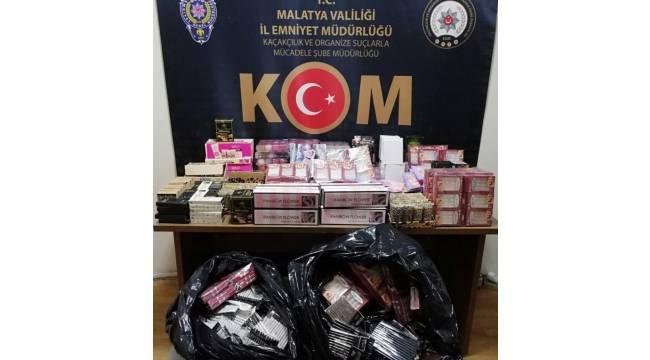Malatya'da gümrük kaçakçılığı operasyonu