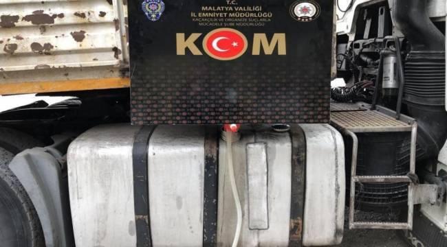 Malatya'da polisten kaçakçılık operasyonu
