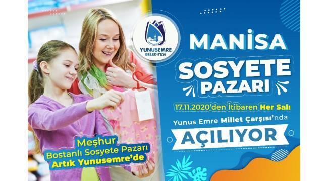 Manisa Sosyete Pazarı Yunusemre'de açılıyor