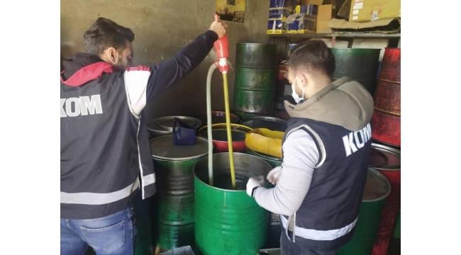Mardin'de 11 bin 637 litre kaçak akaryakıt ele geçirildi