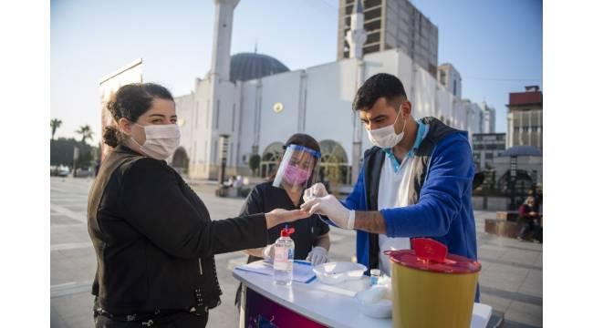 Mersin'de vatandaşlar diyabete karşı bilgilendirildi