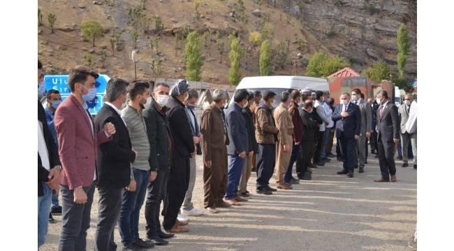 MHP Grup Başkan Vekili Akçay Beytüşşebap'ta