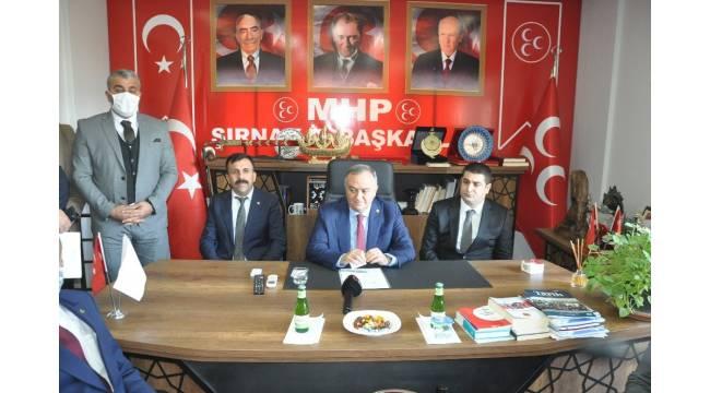 MHP heyeti, Şırnak'ın sorunlarını sahada dinledi