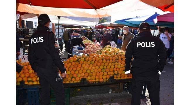 Nevşehir'de maske takmayan 36 kişiye ceza yazıldı