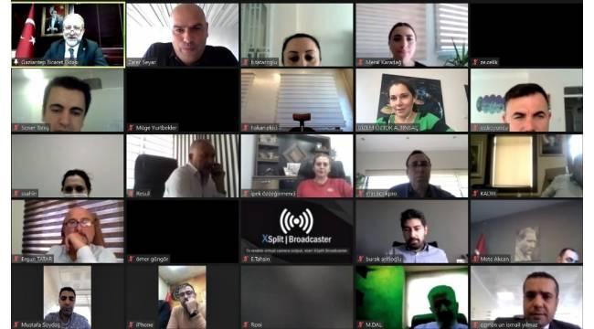 Online toplantıda 2021 ekonomisi konuşuldu