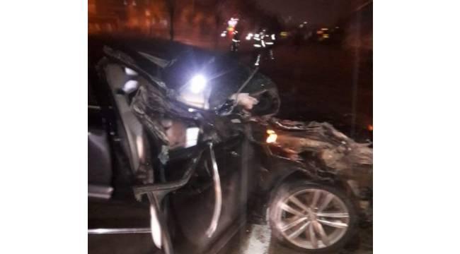 Orhaneli Belediye Başkanı, trafik kazasında yaralandı