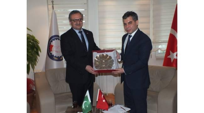 Pakistan ve Rusya büyükelçiliklerinden SANKON'a ziyaret