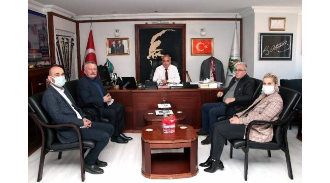 Pulat'tan Başkan Bozkurt'a ziyaret