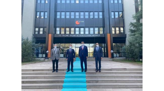 Rektör Polat'tan, ÖSYM Başkanı Aygün'e ziyaret