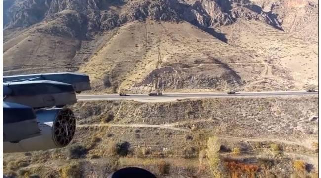 Rusya, Dağlık Karabağ'da hava faaliyetlerine başladı