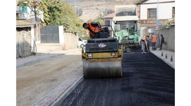 Safranbolu Belediyesi 24 bin ton sıcak asfalt serdi