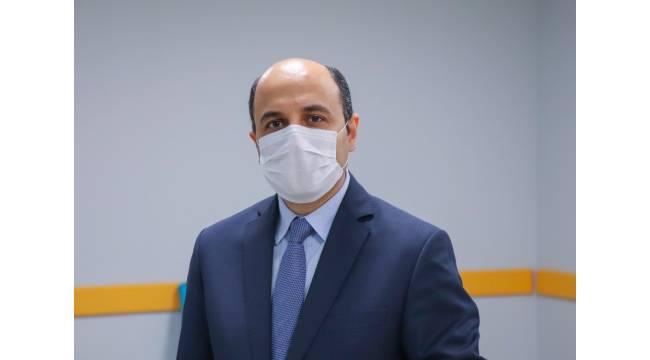 """Sağlık Müdürü Oruç: """"Ağır vaka sayımız, vaka sayımızla birlikte artmaya devam ediyor"""""""