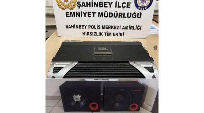 Şahinbey'de 11 farklı oto hırsızlık olayının zanlısı yakalandı