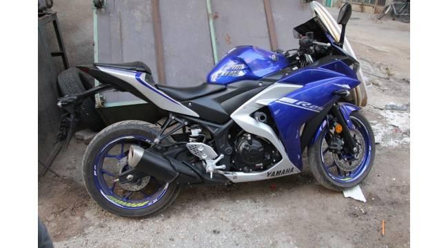 Salihli'den çalınan motosiklet Kula'da bulundu