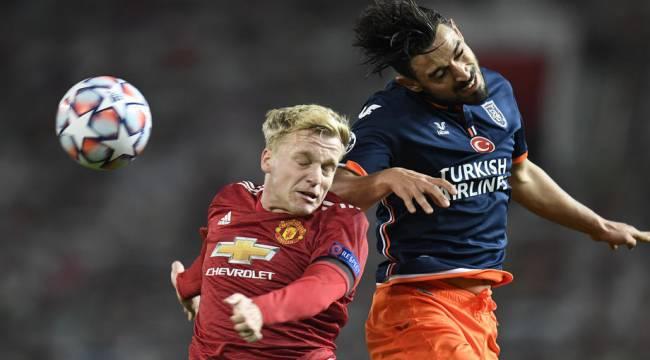 Şampiyonlar Ligi: Manchester United: 3 - Medipol Başakşehir: 0