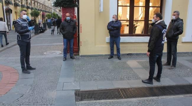 Samsun'da yoğun caddelerde HES kodu denetimi