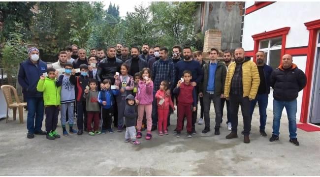 Samsunspor taraftar grubundan Pamir bebek için destek