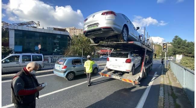 Sarıyer'de 2 milyonluk trafik kazası: 1 yaralı