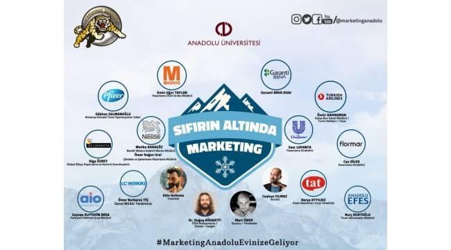Sıfırın Altında Marketing'te iş ve medya dünyasının başarılı isimleri ve öğrenciler 15'inci kez buluşuyor